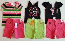 Gymboree Palm Beach Paradise Striped,Sunglasses,Cocktail Top,Shorts 2 pc. SET 5