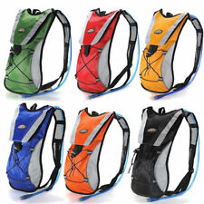 2L Sport Backpack + Hydration Water Bladder Cycling Climbing Hiking Bag Rucksack