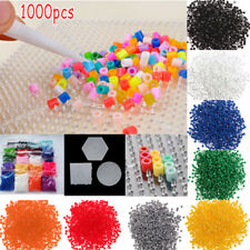 5mm Hama Perler Beads DIY Craft Template Puzzle Pegboards Pattern Kids Toys