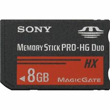 Sony 8GB 16GB 32GB High Speed MS PRO DUO-HG DUO HX R50MB/s W15MB/s Memory Stick