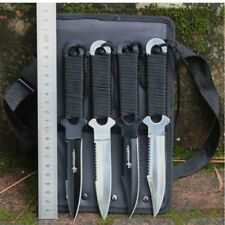Tactical Knife Leggings/Paratroopers Knife Diving Straight Outdoor Survival Tool