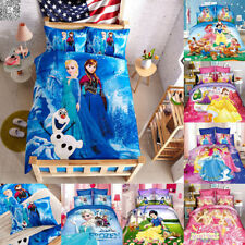 Hot Princess Bedding Set with Duvet Quilt Cover Pillowcase Twin Size Bed Sheet