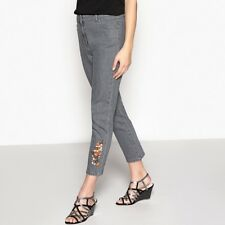 La Redoute Womens Slim Fit Embroidered Jeans, Length 27
