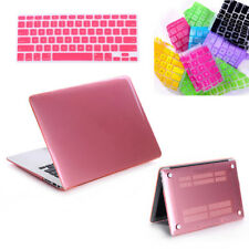 """PC plastic Case + Silicone Keyboard Cover for Macbook Air Pro Retina 11"""" 13"""" NEW"""