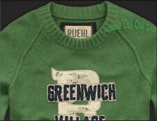 Abercrombie & Fitch Ruehl No.925 logo applique jumpers NWT authentic items