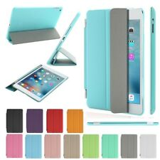 Magnetic Leather Smart Cover Back Case Stand For Apple iPad 2 3 4 mini Air 2 Pro