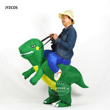 Inflatable T-Rex Costume Adult  Dinosaur Cosplay Outfit Carnival Party Dress