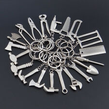 Creative Repair Tool Wrench Spanner Key Chain Ring Keyring Metal Keychain Gift