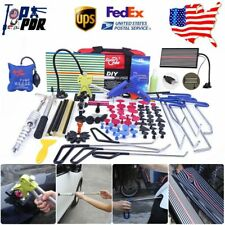 Paintless Dent Repair Push Rods Dent Lifter Slide Hammer PDR Tools Removal Set