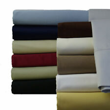 Attached Waterbed Bed Sheet Set 1000 Thread count 100% Egyptian Cotton Solid