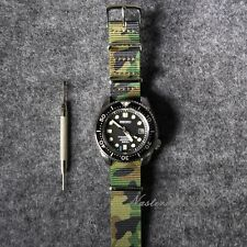 Military Watch Nato Strap Camouflage ZULU Nylon  G10 For 18 20 22mm Watches