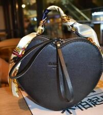 Women Black And Red Color New Fashion Heart Shaped Pu Leather Shoulder Bag