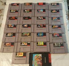 Nintendo SNES Games. Pick your title. Super Nintendo Game Lot-Cleaned and Tested
