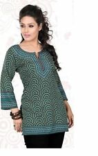 Indian Pakistani Kurta Kurti Designer Women Ethnic Dress Top Tunic SMALL
