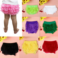 Fashion Toddler Baby Girl Lace Ruffle Bloomer Nappy Underwear Panty Diaper Cove