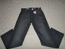 GAP 1969 JEANS MENS RELAXED SIZE 30X30 ZIP FLY DARK GREY COLOR NEW WITH TAGS