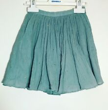 Moon et Miel Girls Size 5, 6 Sage Green Skirt new with tags