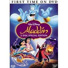 Aladdin (DVD, 2004, 2-Disc Set, Special Edition English/French/Spanish) - EUC