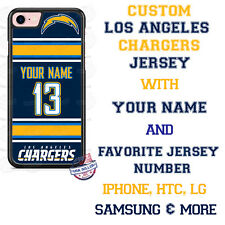 Los Angeles Chargers Phone Case fits iPhone X 8 PLUS iPhone 7 iPhone 6s SE etc