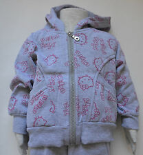 New Girl Hello Kitty two pieces winter sets Grey Size 1,2,3,4,5,6