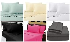 Split Sheet Set Solid 1000 Thread Count Pure Egyptian Cotton With All Sizes