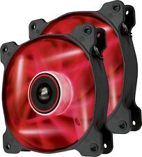 Corsair SP140 Red LED High Static Pressure 140mm Case Fan 2-Pack CO-9050034-WW