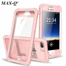 MAX-Q Shockproof Phone Case for iPhone 6 6S 7 Plus,PC+TPU 2-Layer Hybrid Full-Bo
