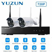 720p HD Wireless IP Camera Security Video Surveillance 2CH WIFI NVR System LOT G