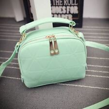 6 Solid Color New Fashion Pu Leather Small Size Shoulder Bag for Women