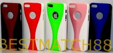 for iphone 5 5s snap on case hot pink white red blue black + ///\/