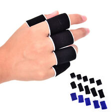 10x Breathable Stretchy Finger Protection Sleeve bandage Support Arthritis Sport