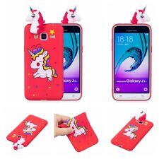 3D Painted Climb Unicorn Soft Silicone Case Cover For Samsung Galaxy S6 S7 S8 S9