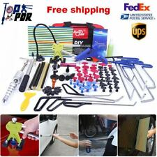 Paintless Dent Repair PDR Tools Slide Hammer Dent Lifter LED Line Board Removal
