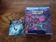 Tachyon Project Limited Edition. Sealed with card. Playstation Vita