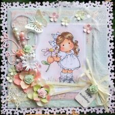 Decorative Girl Clear Stamps Scrapbooking Cutting Dies Stencils Embossing
