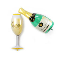 Beautiful Foil Balloon Champagne Cup Beer Bottle Ball Home Party Decor Favor Bar