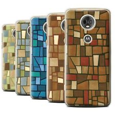 STUFF4 Back Case/Cover/Skin for Motorola Moto E5 Plus 2018/Mosaic Tiles