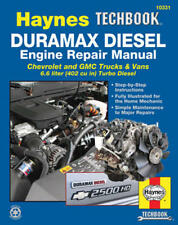 Duramax Diesel Engine Repair Manual Chevrolet Silverado GMC TopKick 2001-2012