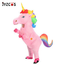 Inflatable Unicorn Costume for Girls Women Men Blowup Party Halloween Fancy Suit
