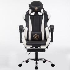 Chair High Back Leather Office Gaming Seat Executive Reclining Ergonomic Swivel