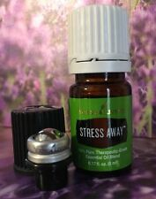 YOUNG LIVING 5 ml Essential Oils- Stress Away + Roller New Sealed.