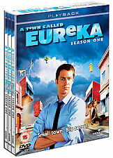 A Town Called Eureka - Series 1 - Complete (DVD, 2008, 4-Disc Set)