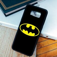 Soft Case For Samsung Galaxy S6 S7 Edge S8 S9 Plus Note 5 Note 8 Batman Logo
