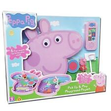 New Peppa Pig Pick Up & Play Playground Playset With Sound