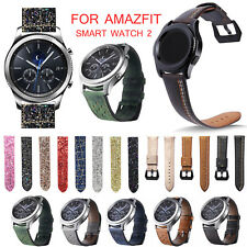 Luxury Leather Band for Xiaomi Huami AMAZFIT Smart Watch Stratos 2 Pace 2 Strap