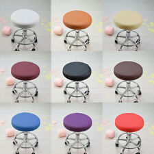 13'' Swivel Round Bar Stool Chair Cover Home Office Seat Slipcover Protector