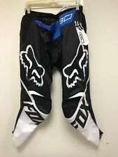 Fox Racing Motocross MX SX 180 Padded Race Pants 600D BLK/BLU 36 NEW AUTHENTIC