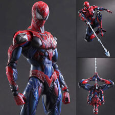 Spider Man Marvel Variant Play Arts Kai Action Figure Toy Doll Statue Display