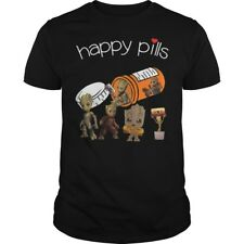 Groot Happy Pills T-shirt Marvel Guardians of the Galaxy Marvel Funny Tshirt