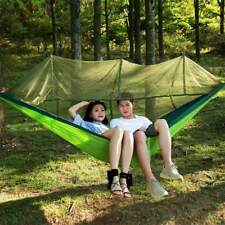 Outdoor Camping Survivor Hammock with Mosquito Nylon Garden Camping Fly Tent New